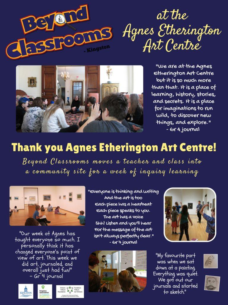 Agnes Etherington Art Centre - Thank You