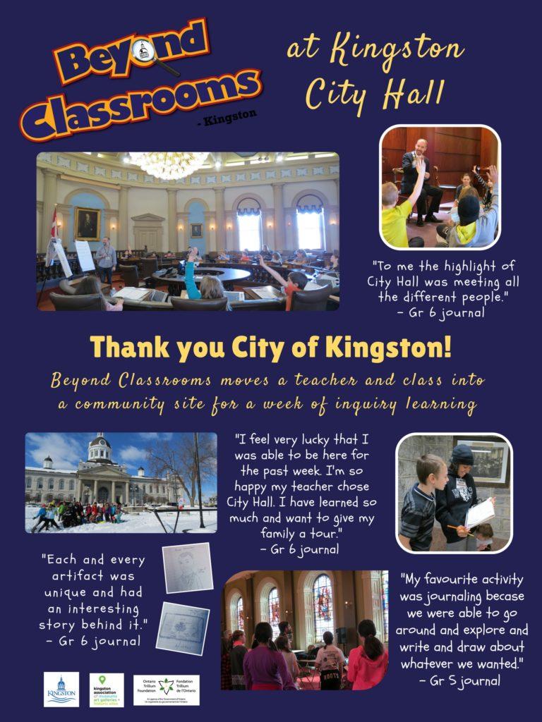 City of Kingston Thank You