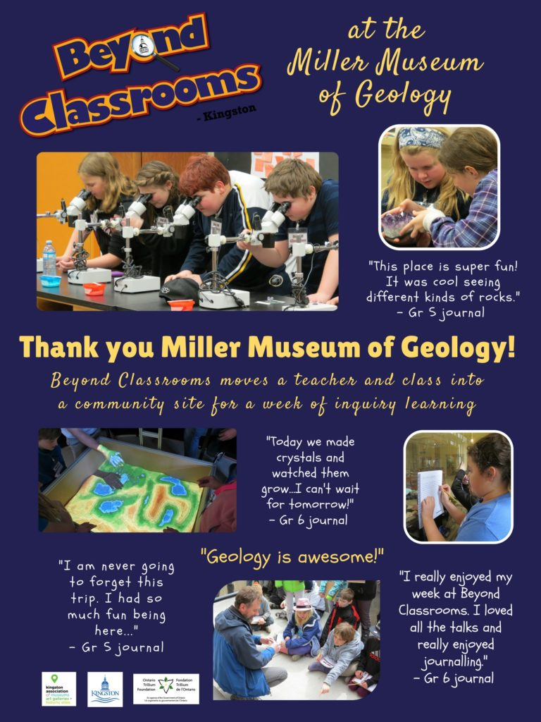 Miller Museum Thank You